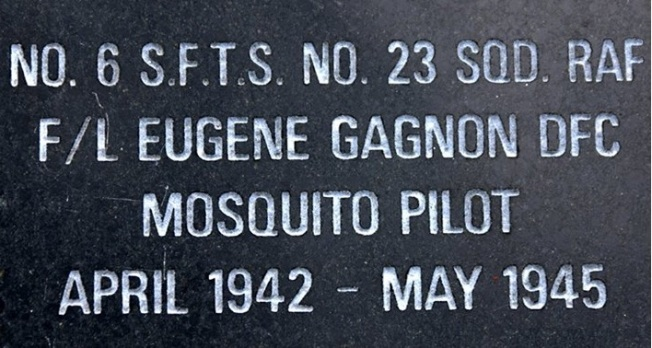 Dunnville Eugene Gagnon plaque