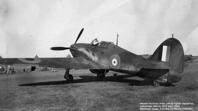 133 Squadron Hurricane