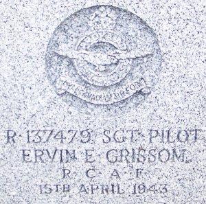 Grissom headstone 1