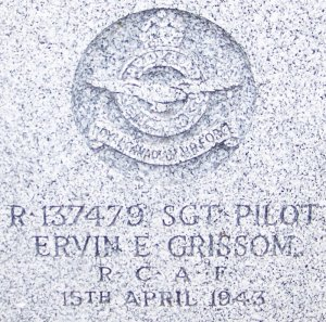 Grissom headstone 1