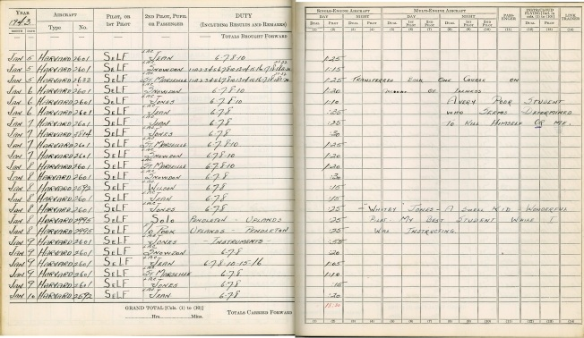 logbook Uplands page 21