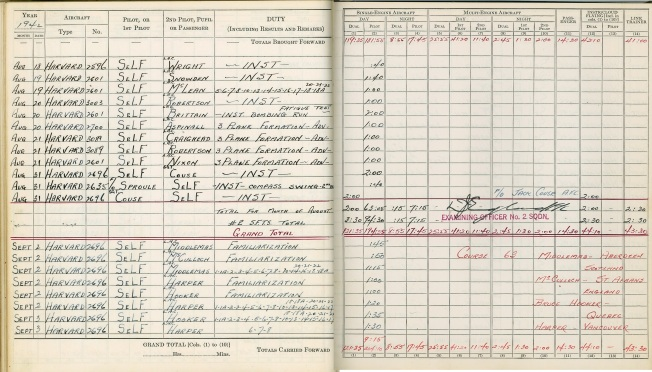 logbook Uplands page 5