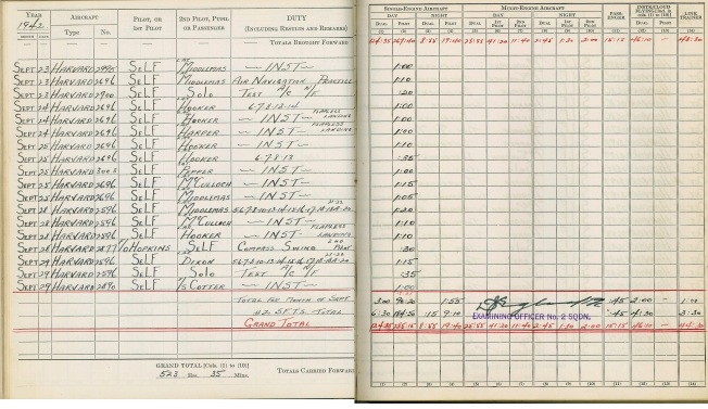 logbook Uplands page 9