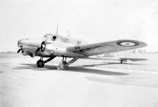 Avro Anson August 1941 modified