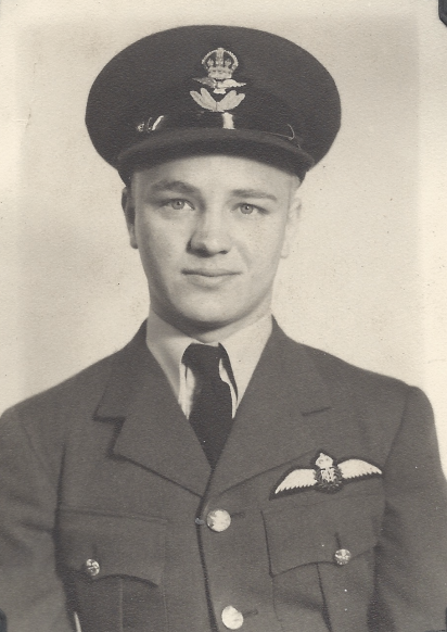 Flying Officer LeVerne Haley