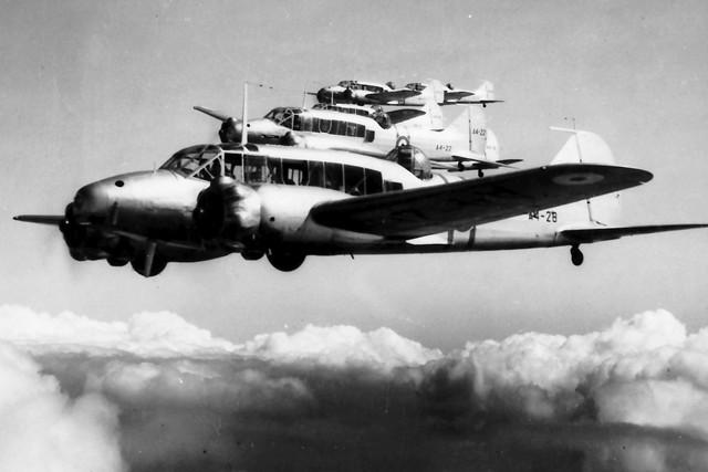 RAAF Avro Anson 1938