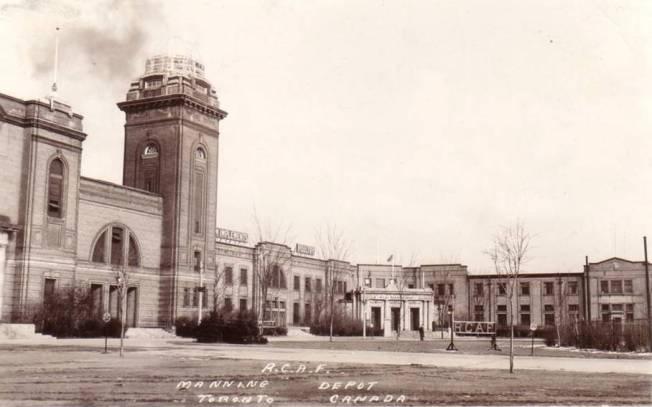 postcard-toronto-manning-depot-rcaf