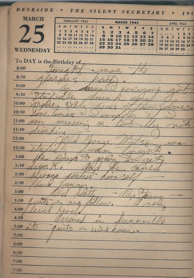 March 25 1942