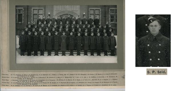 Rusty's ITS class-Regina 1942 Sid Sied
