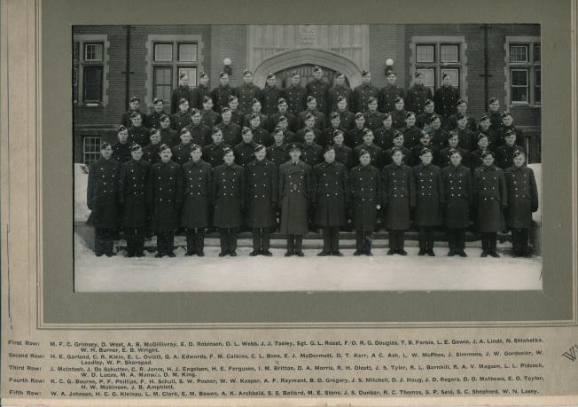Rusty's ITS class-Regina 1942