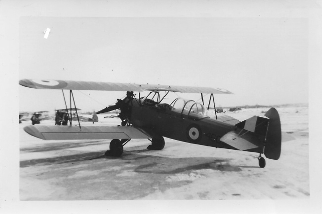 1940 12 Fleet Finch 2 , Kinner B5R 125 H.P. Goderich