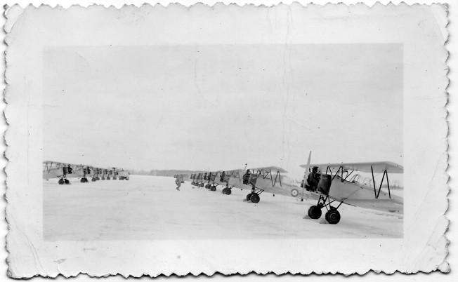 1940 12 Line up of Fleets # 12 E.T.F. Goderich