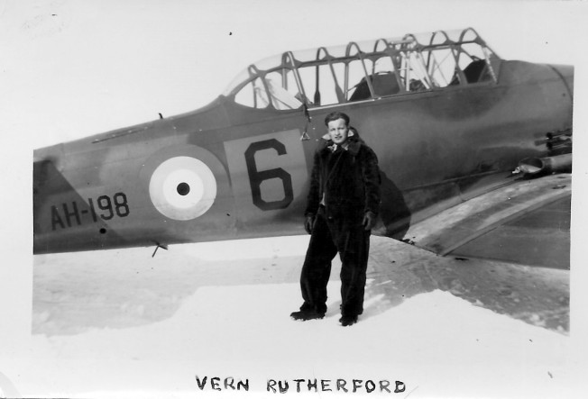 1941 02 Vern Rutherford LAC Summerside PEI (1)