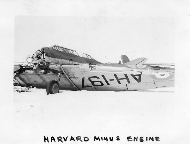 1941 Harvard minus engine Summerside (1)