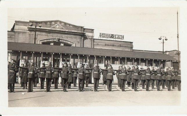 Dad - #1 Manning Depot, Toronto, 1941