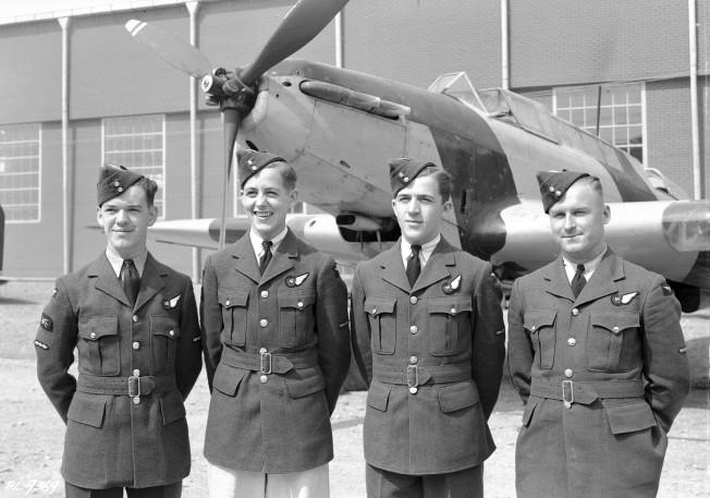 #9 Bombing & Gunnery Wing Parade Mont Joli Qc.